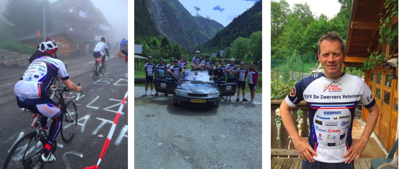 De Zwervers veteranen 2016 Alp d'huzes